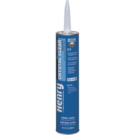 Henry 10.1 Oz. Crystal Clear Roof Cement and Patching Sealant