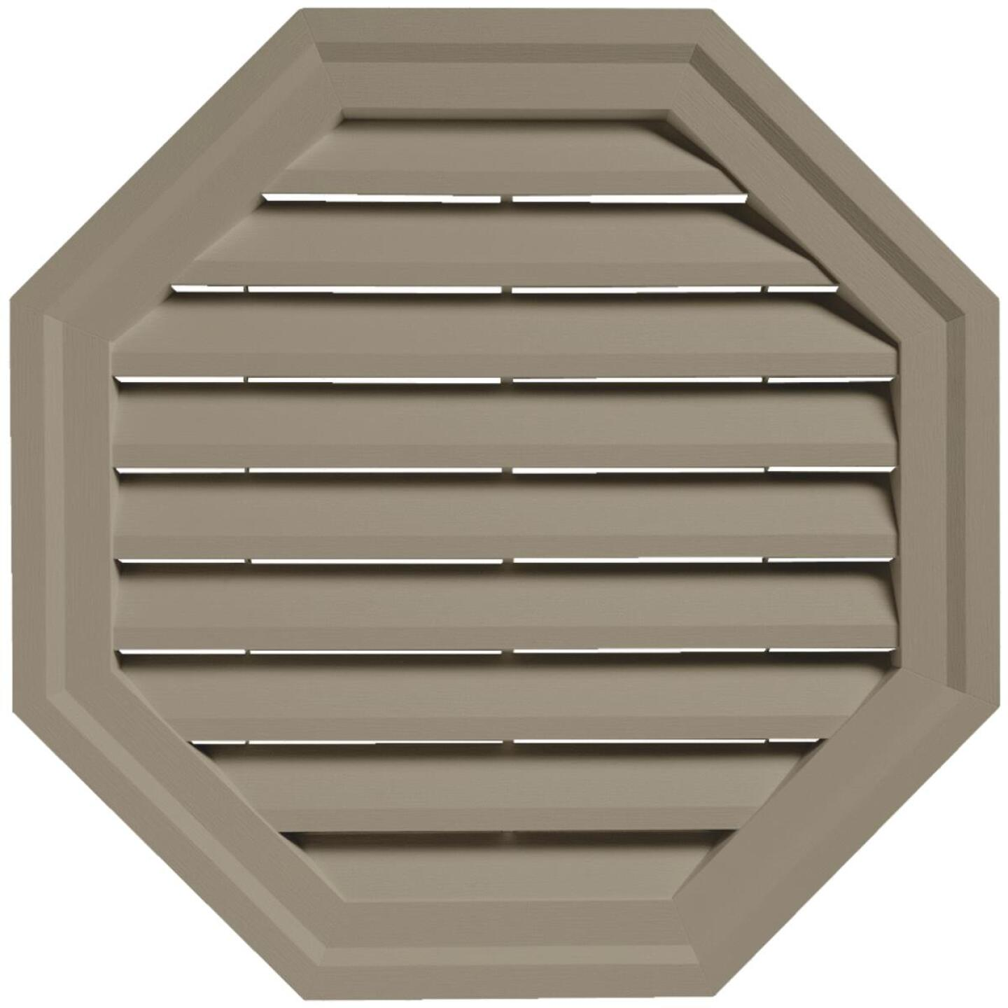 "Ply Gem 18"" Octagon Clay Gable Attic Vent Image 1"