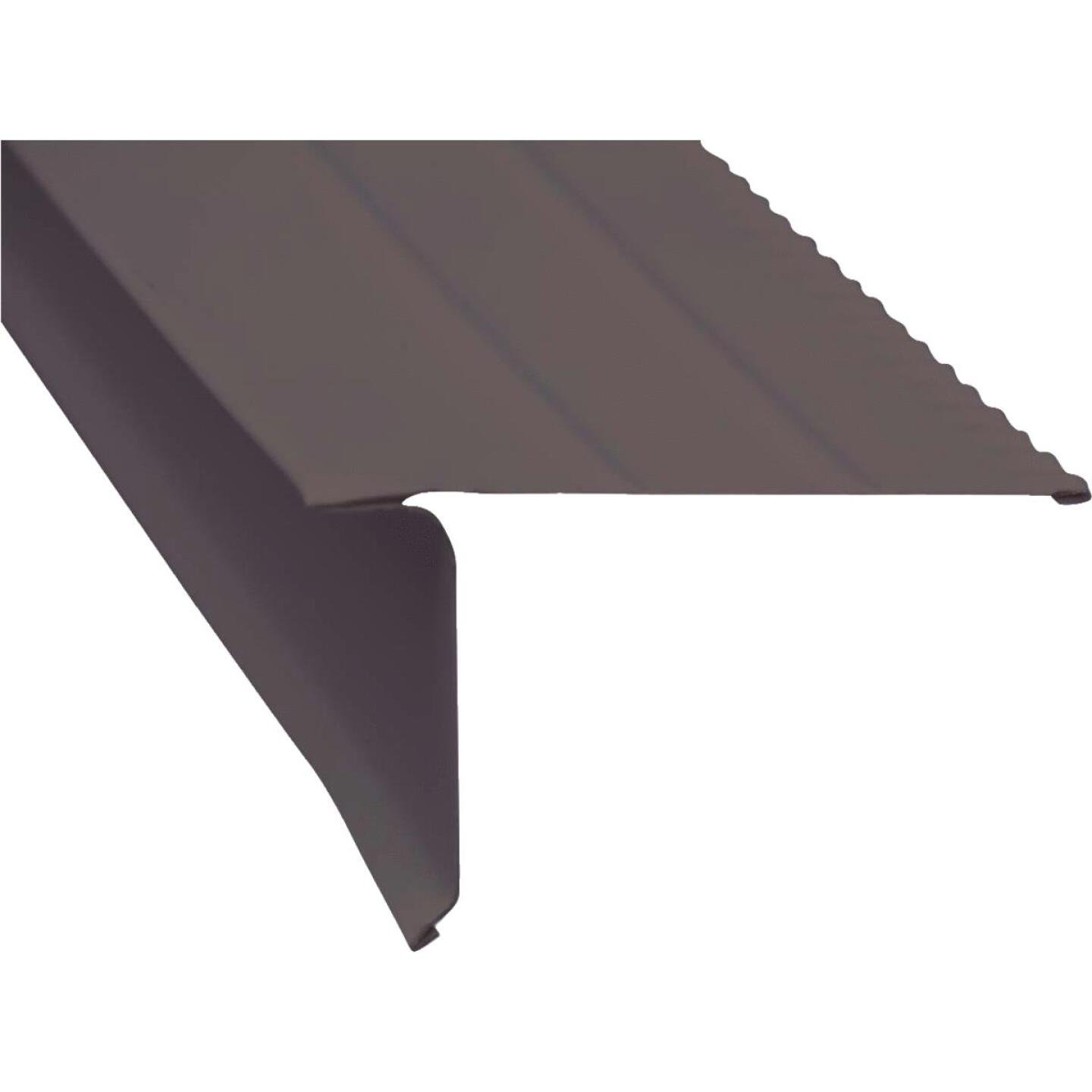 Amerimax F5 Aluminum Drip Edge Flashing, Brown Image 1