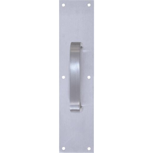"""Tell 6"""" Aluminum Pull Plate with Flat Handle"""