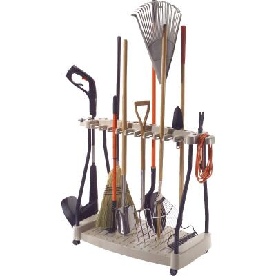 Suncast 42 In. Long Handle Tool Rack with Wheels