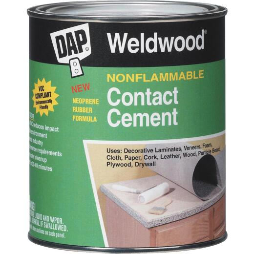 DAP Weldwood Gal. Nonflammable Contact Cement