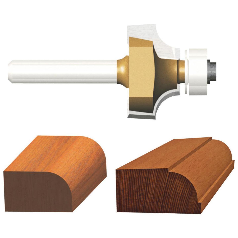 Vermont American Carbide Tip 1/16 In. Roundover Bit Image 1