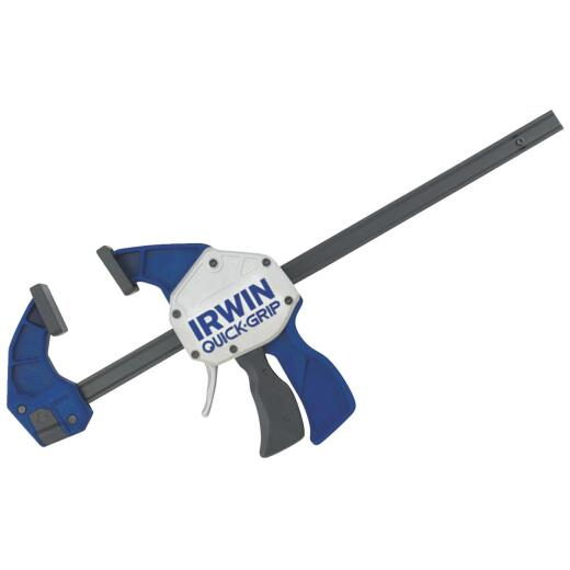 Irwin Quick-Grip XP 12 In. x 3-1/4 In. One-Hand Bar Clamp and Spreader