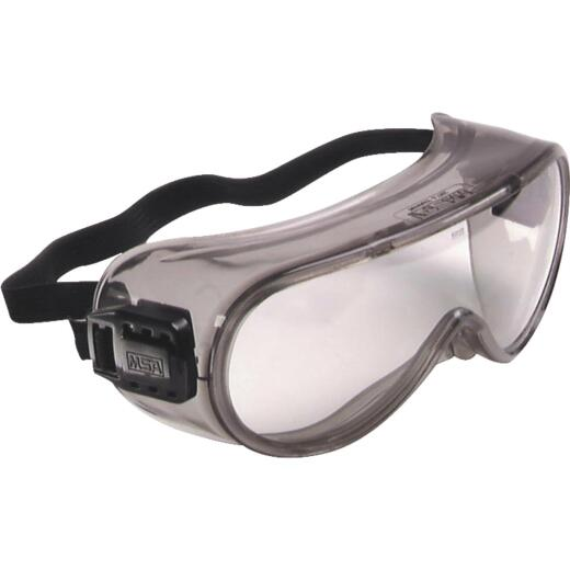 Safety Works Pro Safety Gray Tint Frame Safety Goggles with Anti-Fog Clear Lenses