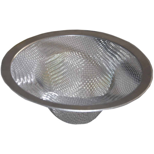 Lasco 1 In. Stainless Steel Bathroom Sink Drain Strainer