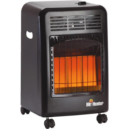 MR. HEATER 18,000 BTU Radiant Cabinet Propane Heater