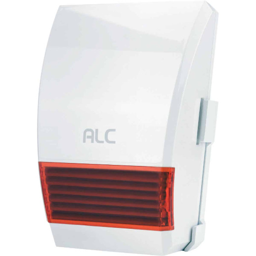 ALC Wireless Connect Plus Indoor White Security System Siren & LED Light