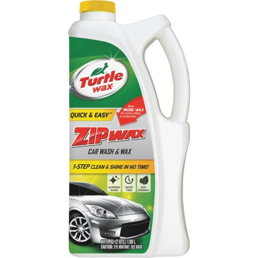 Turtle Wax Zip Wax 64 Oz. Liquid Car Wash & Wax