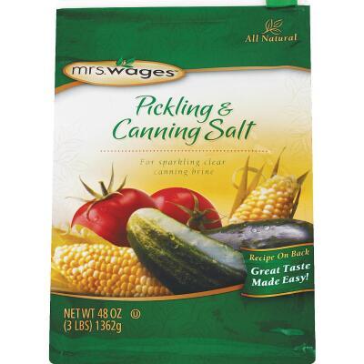 Mrs. Wages 48 oz. Canning & Pickling Salt