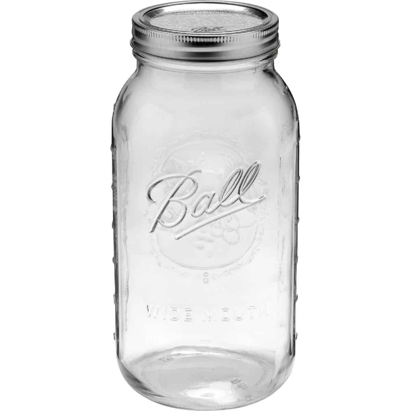 Ball 1/2 Gal. Wide Mouth Mason Canning Jar (6-Count) Image 2