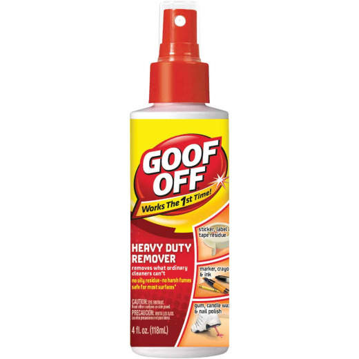 Goof Off 4 Oz. Spray Pump Heavy Duty All Purpose Remover