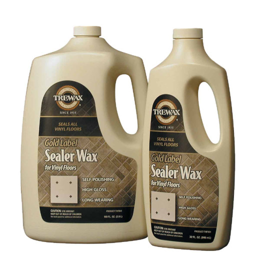 Trewax 32 Oz. Gold Label Sealer Floor Wax