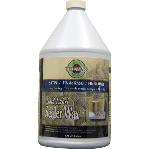 TreWax 1 Gal. Gold Label Wax Finish