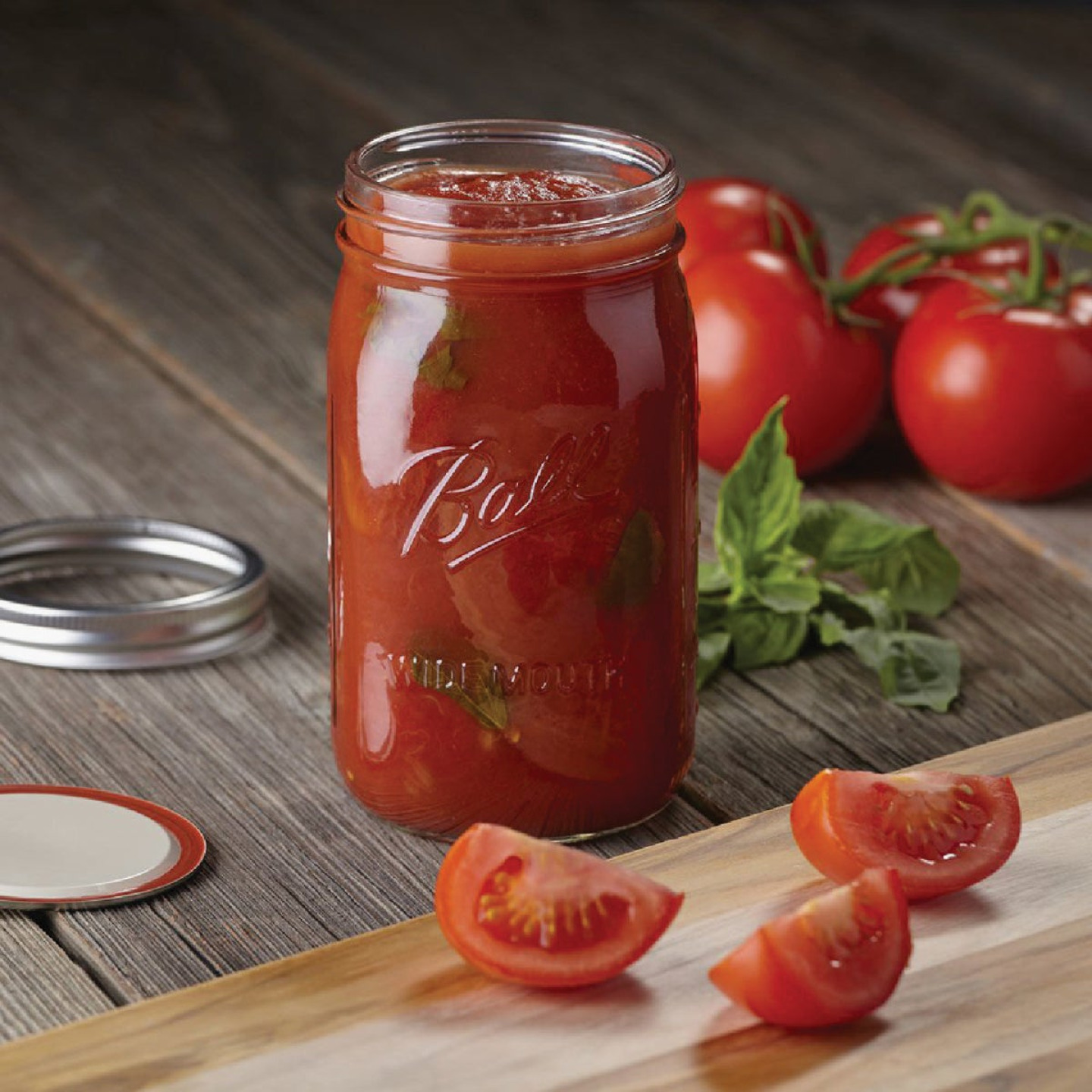 Ball 1 Quart Wide Mouth Mason Canning Jar (12-Count) Image 4