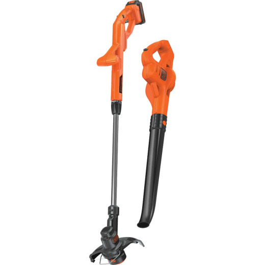 Black & Decker Max 20V String Trimmer & Sweeper Combo Kit