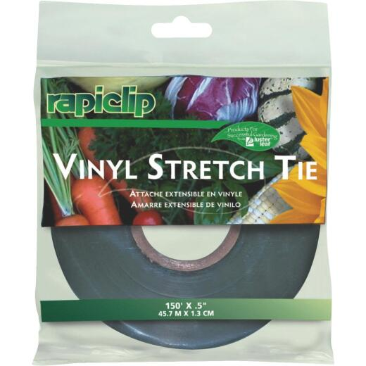 Rapiclip 1/2 In. W. x 150 Ft. L. Heavy-Duty Vinyl Stretch Tie