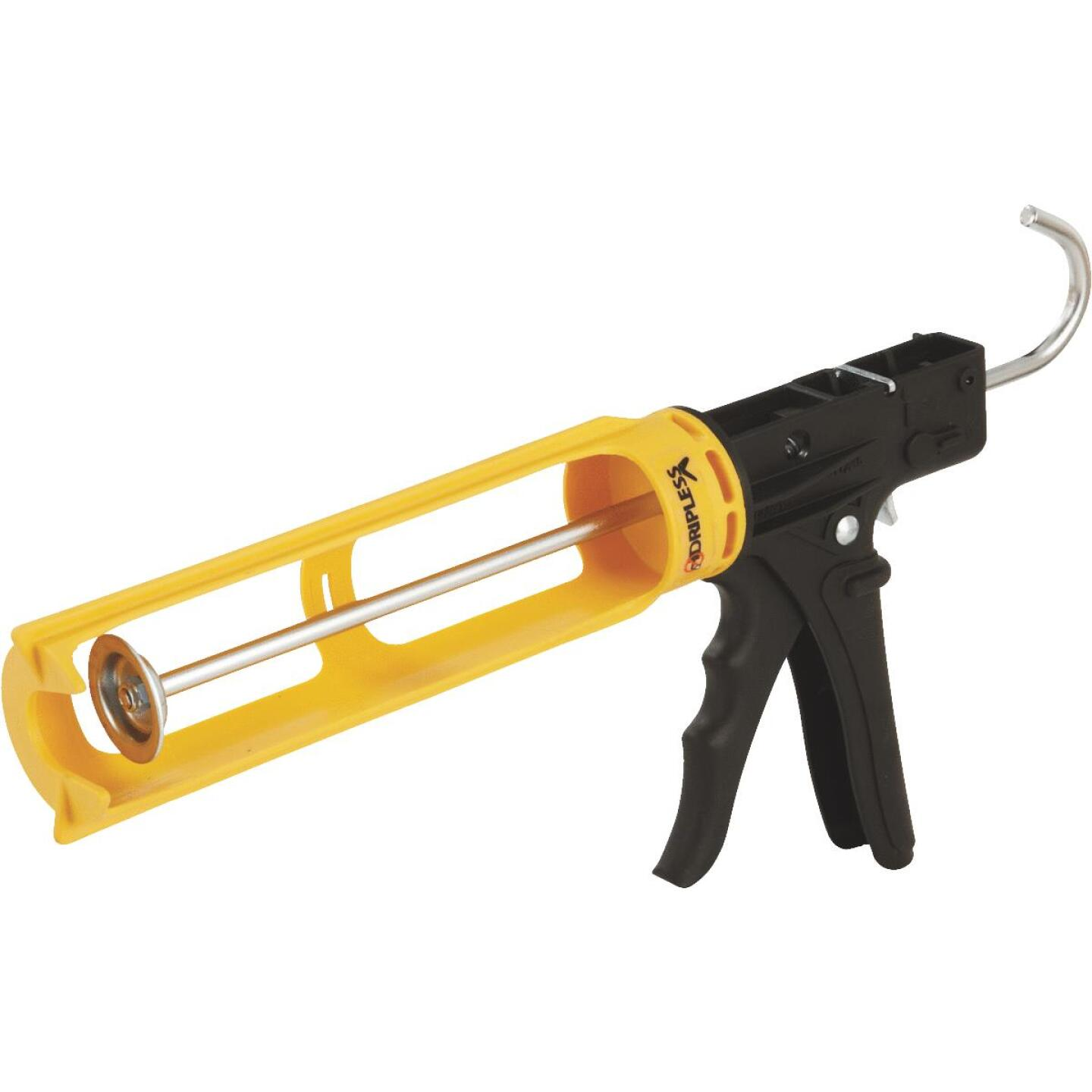 Dripless ErgoTech Series 10 Oz. 18:1 Thrust Industrial Cradle Composite Caulk Gun Image 2