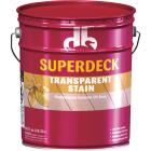 Duckback SUPERDECK Transparent Exterior Stain, Heart Redwood, 5 Gal. Image 1